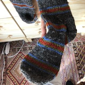 Super fuzzy socks NWOT